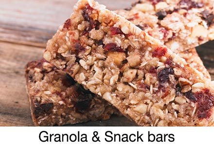 Granola & snack bars