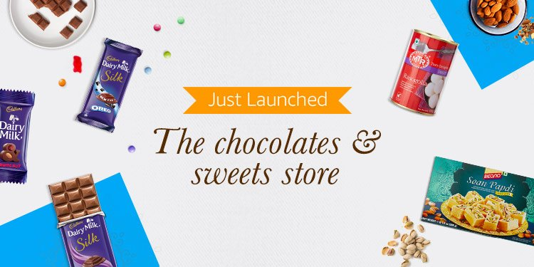 Chocolates & Sweets Store
