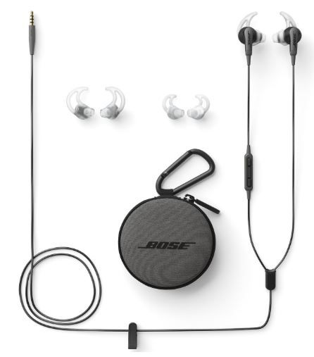 Bose SoundSport In-Ear Headphones with Mic on 40% Off