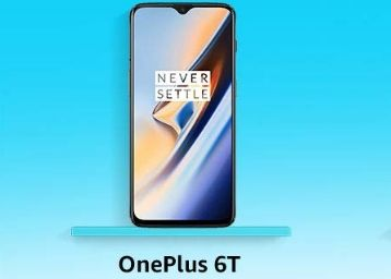 Lowest Online Price on OnePlus 6T (8GB RAM, 128GB) at Rs.32999 + 10% SBI Card Extra