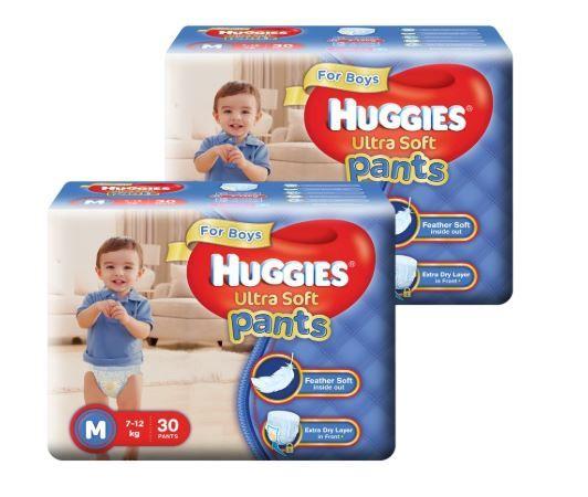 Huggies Diapers Minimum 50% Off