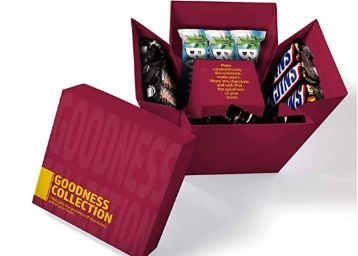 Flat 50% Off: Snickers Flower Cube Assorted Chocolate Gift Pack- 624g