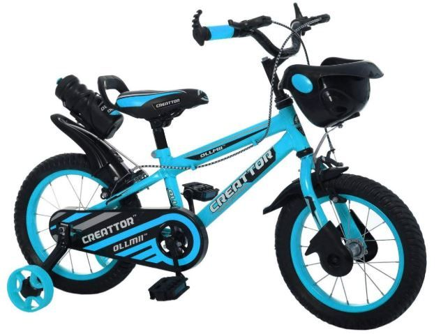 Flat 38% off on Ollmii Bikes, Creattor 14 inches BMX Series, Unisex, Kids Cycle