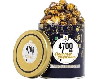 4700BC Mocha Walnut Chocolate Popcorn, Tin, 650g at Just Rs.450
