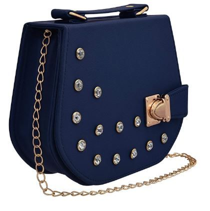 Flat 74% off on BFC- Sling Bag For Woman with Gold Chain