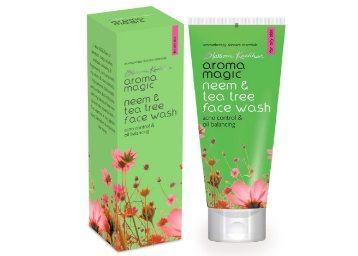 Flat 25% off on Aroma Magic Neem And Tea Tree Face Wash, 100ml