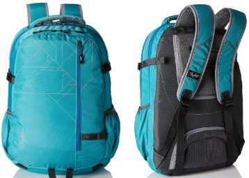 Flat 62% off on Skybags 42 Ltrs Blue Laptop Backpack