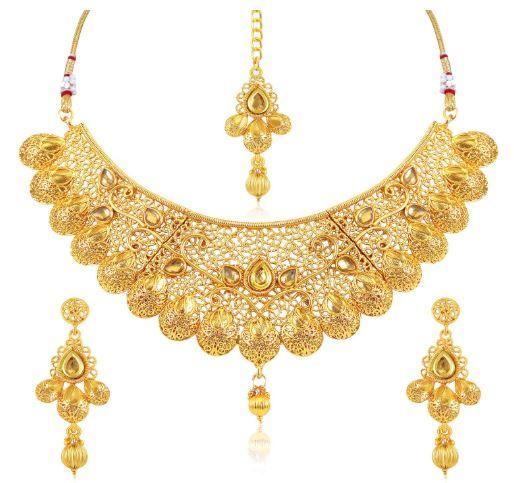 Flat 93% off on Sukkhi Jewellery Set for Women