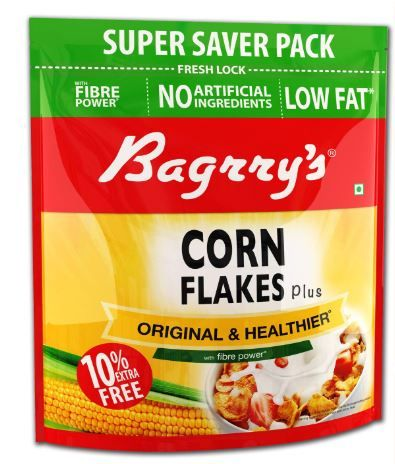 Flat 52% off on Bagrrys Corn Flakes, 800g (with Extra 80g)