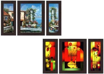 Wens Watercraft Wall Art pack of 3 at Rs.155