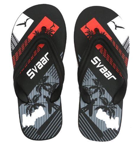 Comfortable Black Slippers for Men