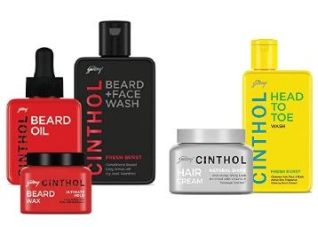 Cinthol Hair, Body and Beard Care combo set From Rs. 100