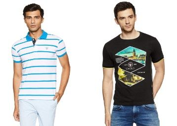 Min. 70% off on Duke T shirts From Rs. 173