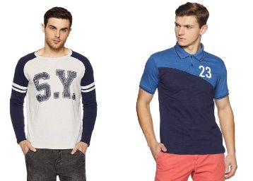 Min. 70% off on Symbol clothing from Rs.159