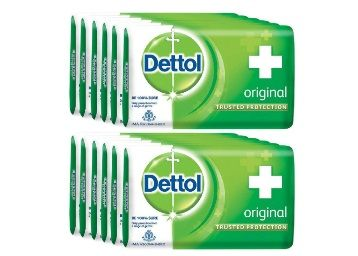Flat 30% Off on Dettol Original Soap - 125 g (Pack of 12)