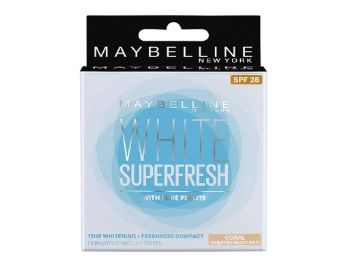 Maybelline New York White Super Fresh Compact, Coral, 8g At Rs.127