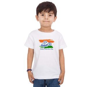 Flat 35% off on I Love My India Casual Printed Colored Independence Day