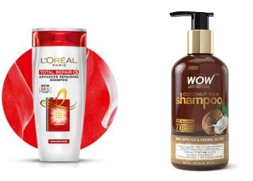 Min. 35% off and More on Top Brands Shampoo [Loreal, Wow, Head and Soulder]