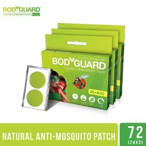Bodyguard Premium Natural Anti Mosquito Repellent Patches - 60 + 12 Patches At Rs.449