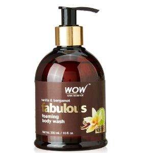 WOW Vanilla & Bergamot No Parabens & Sulphates Shower Gel, 300mL At Rs.199