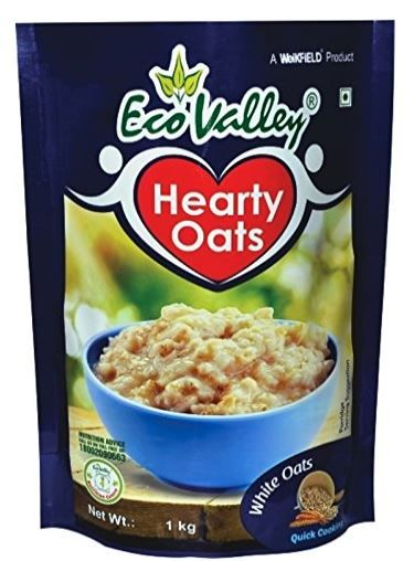 Eco Valley Hearty White Oats, 1kg At Rs.97 + Free Shipping