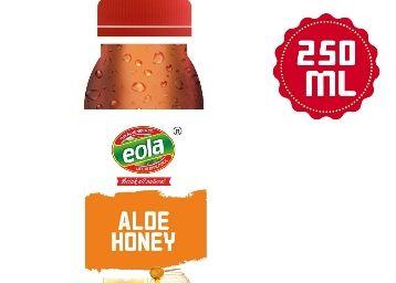 EOLA Aloe Honey Lemon, 250ml at Just Rs. 10 [ MRP Rs. 55 ] Buy Up To 12 Units