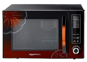 Flat 45% off on AmazonBasics 30 L Convection Microwave (Black)