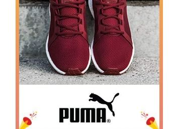 Flat 50% - 70% Off On PUMA Footwears + Free Shipping