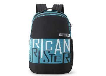 Apply Coupon - American Tourister Bounce 28 Ltrs Black Casual Backpack at Rs.629