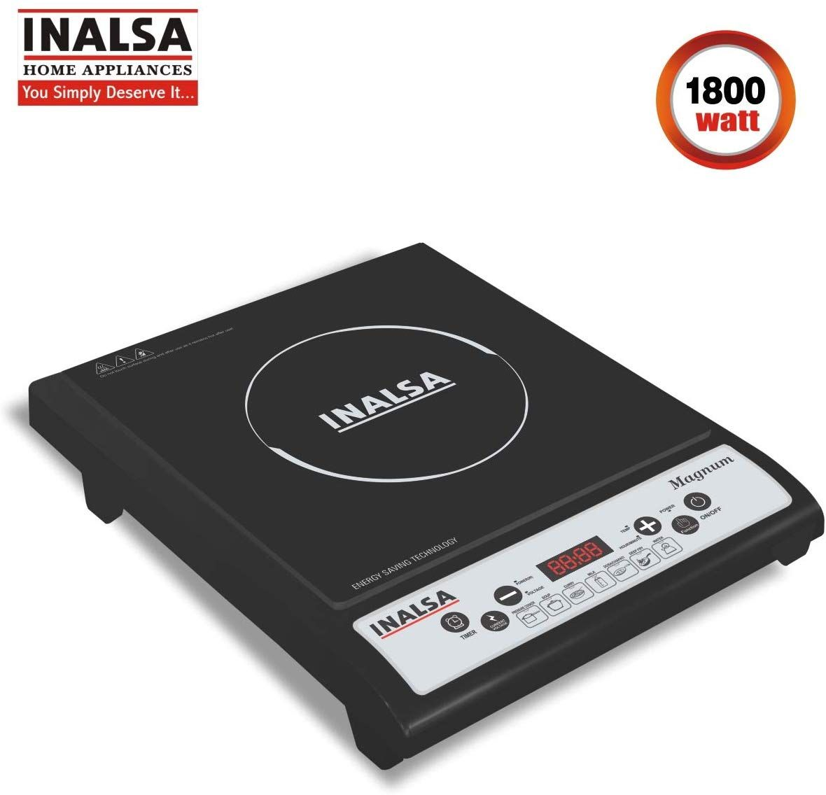 Inalsa Magnum 1800-Watt Induction Cooktop