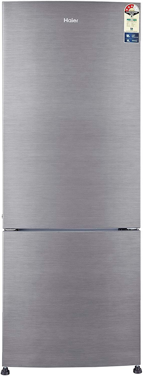 Haier 320 L 3 Star Frost Free Double Door Refrigerator(HRB-3404BS-R/HRB-3404BS-E)