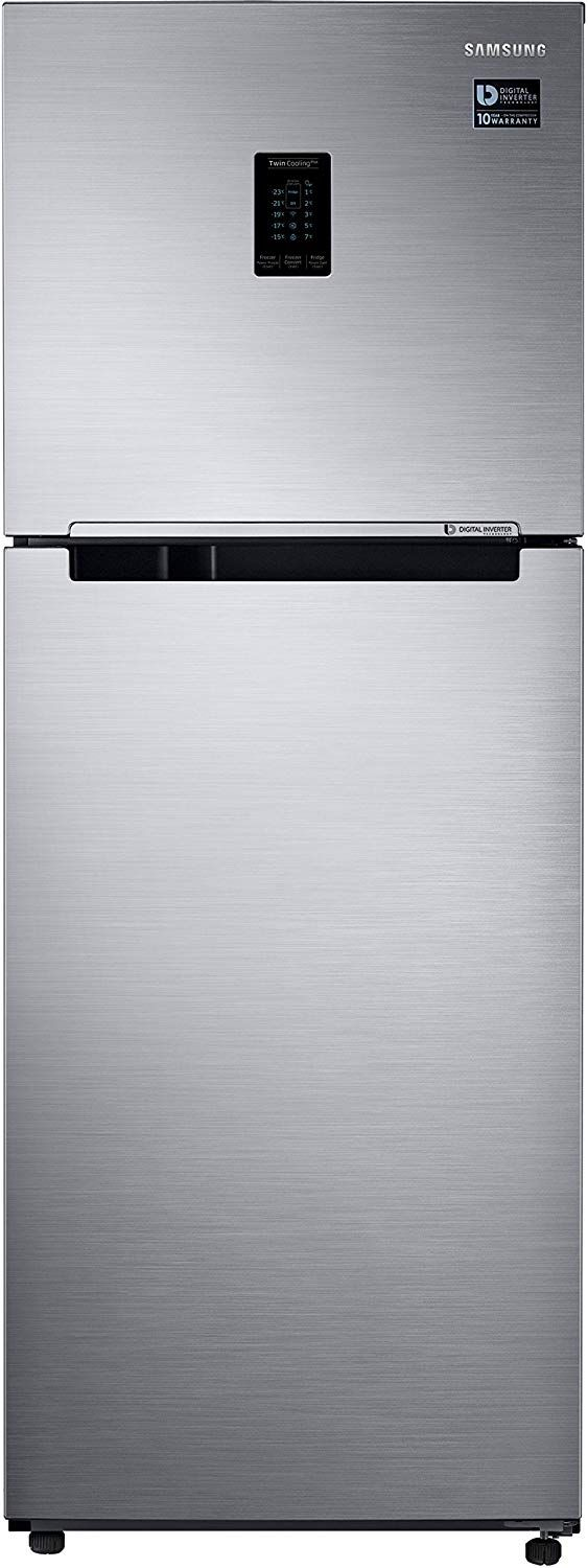 Samsung 324 L 3 Star Inverter Frost Free Double Door Refrigerator(RT34M5538S8/HL
