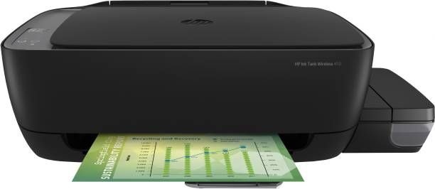 HP Ink Tank WL 410 Multi-function Wireless Printer (Black, Refillable Ink Tank)
