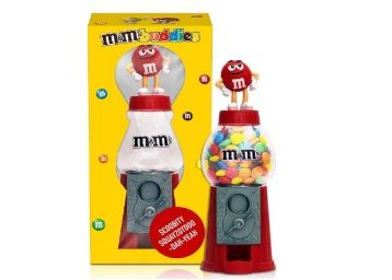 M&Ms Round Candy Dispenser Toy 15cm Diwali Gift Pack with Milk Chocolate Candies at Rs.499