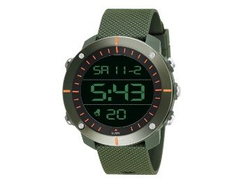 Flat 73% off on Eddy Hager 800 Digital Army Green Sports Watch - for Men at Rs.549