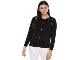 Apply 30% Coupon - Allen Solly Women Sweatshirt at Rs. 641 + Free Shipping