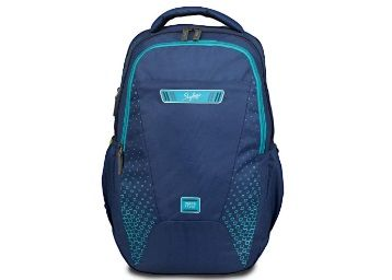 Flat 69% off on Skybags 33 Ltrs Blue Laptop Backpack at Rs. 1099