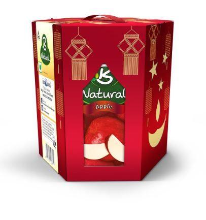 B Natural Lantern Pack, 3 L at Rs. 190 + Free Shipping