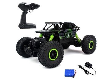 Flat 79% off on MousePotato Rock Crawler Off Road Race Monster Truck 4WD 2.4GHz at Rs. 857