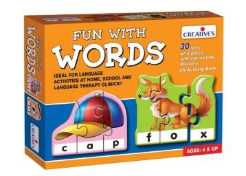Creative Educational Aids P. Ltd. Fun With Words Puzzle (Multi-Color, 90 Pieces) at Rs. 189