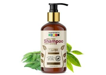 Organix Mantra Tea Tree & Curry Leaves Premium Hair Growth Biotin, Keratin, Pea Protein, Ultra Mild Shampoo, No Sulphates, No Parabens 300ML at Rs. 299