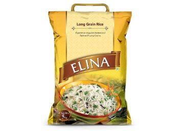 Elina Rice, Long Grain, 5kg at Rs. 225