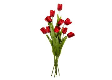Flat 87% off on Fourwalls Tulip (Set of 10, Red) at Rs. 316