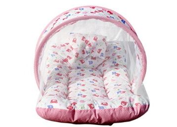 Amardeep and Co Toddler Mattress with Mosquito Net (Pink) at Rs. 350