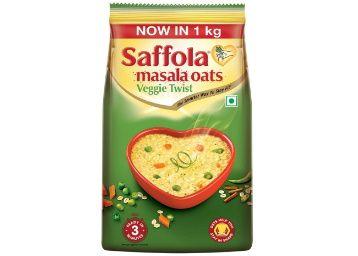 Flat 50% off on Saffola Masala Oats, Veggie Twist, 1 kg at Rs. 225