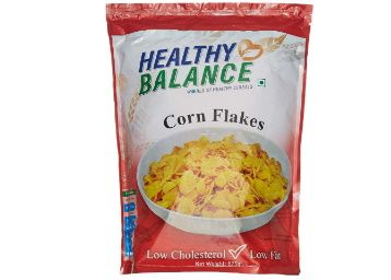 Flat 53% off on Healthy Balance Corn Flakes 875gm at Rs.