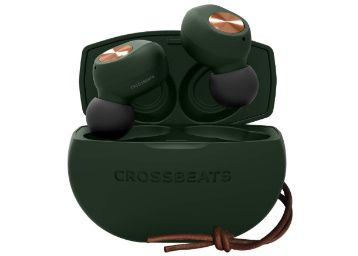 Flat 65% off on CROSSBEATS Pebble 2020 True Wireless in-Ear Earbuds at Rs. 4499