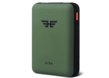 Flat 76% off - URBN 10000 mAh Li-Polymer Heroes Power Bank with 2.1 Amp Fast Charge and Ultra Compact Slim Body at Rs. 599