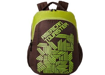 Flat 65% off on American Tourister 27 Ltrs Brown Casual Backpack at Rs. 741