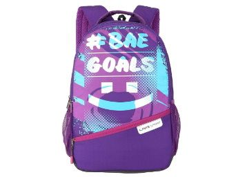 Flat 71% off on Lavie Sport 34 Ltrs Bright Purple School Backpack at Rs. 799